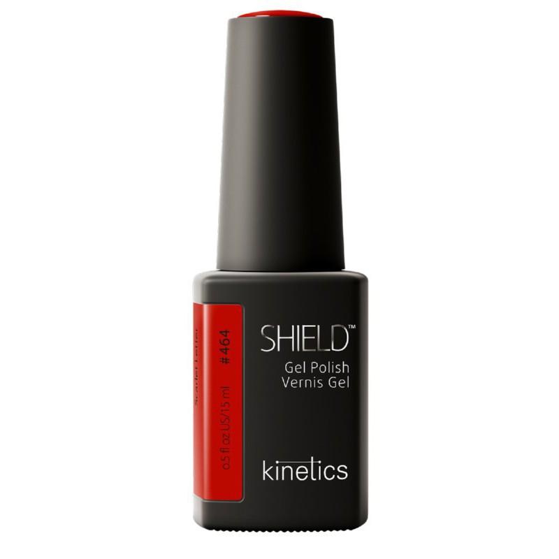 *Gelis lakas Kinetics Guiltless Shield Gel Polish, 464 Scarlet Letter KGP464N, 15 ml