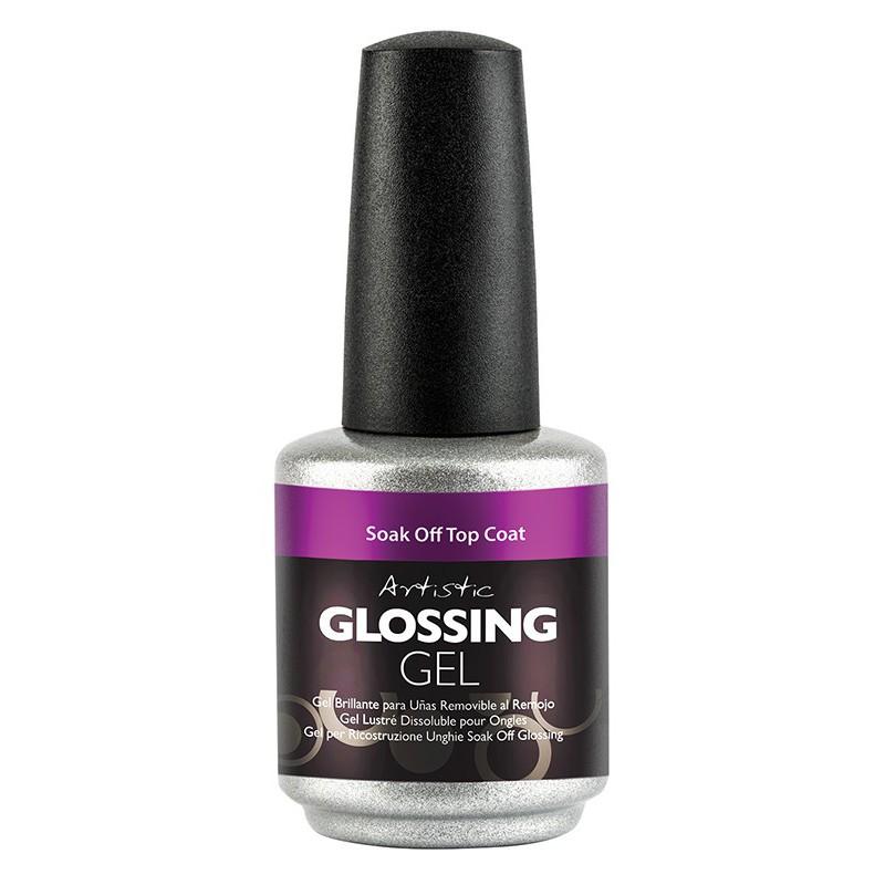 Viršutinis gelio-lako sluoksnis Artistic Glossing Gel ART03201, 15 ml