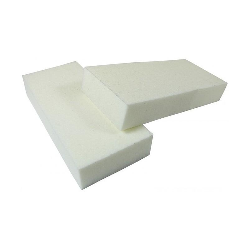 Poliravimo blokelis Amazing Shine White Slim 2-Way Buffer AMZ/062, 100/120, baltas