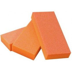 Poliravimo blokelis Amazing Shine Orange Slim 2-Way Buffer AMZ/811, plonas, 100/180, oranžinis