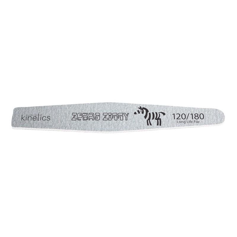Dildė nagams Kinetics Zebra Ziggy KFKZZ, 120/180 rupumo, 1 vnt.