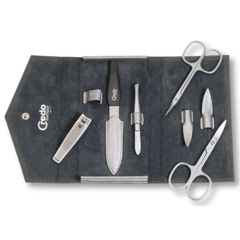 Manikiūro įrankių rinkinys Credo Carbon 5 CRE84521, 5 įrankių