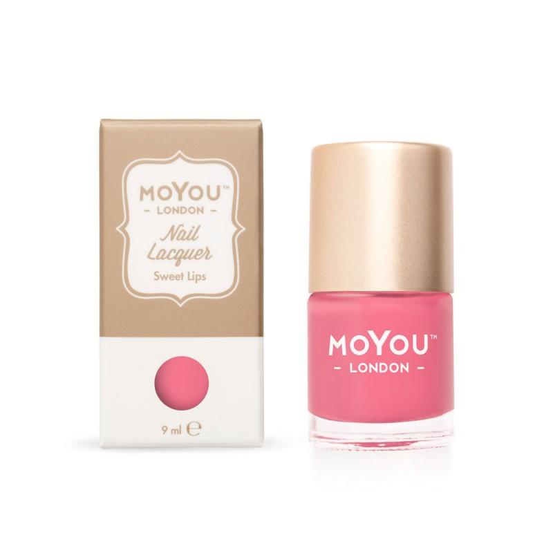 Nagų lakas MoYou London MN011 Sweet Lips