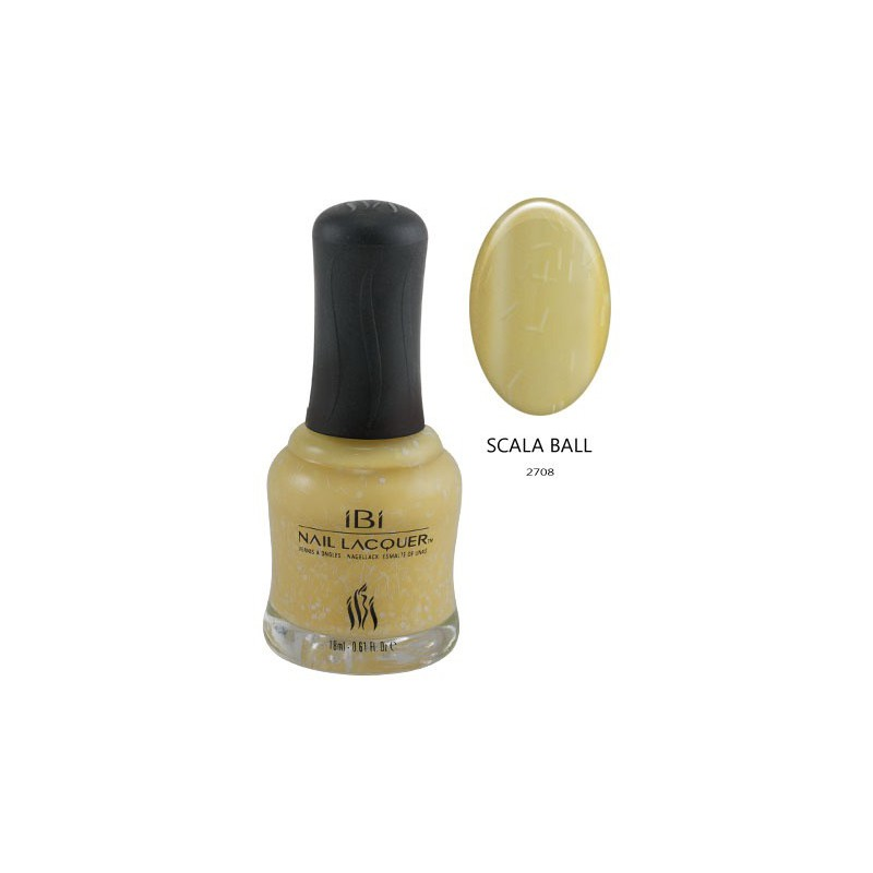 Nagų lakas IBI Carnival Color Collection NL 2708 Scala Ball, 18 ml
