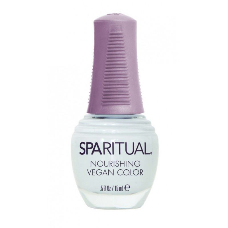 Nago plokštelę maitinantis nagų lakas SPA RITUAL Nourishing Vegan Color Tranquility SPAR80620, 15 ml