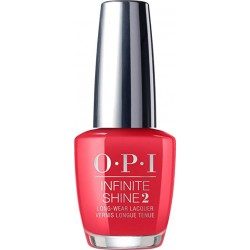Hibridinis nagų lakas OPI Infinite Shine Unrepentantly Red OPIISL08, 15 ml