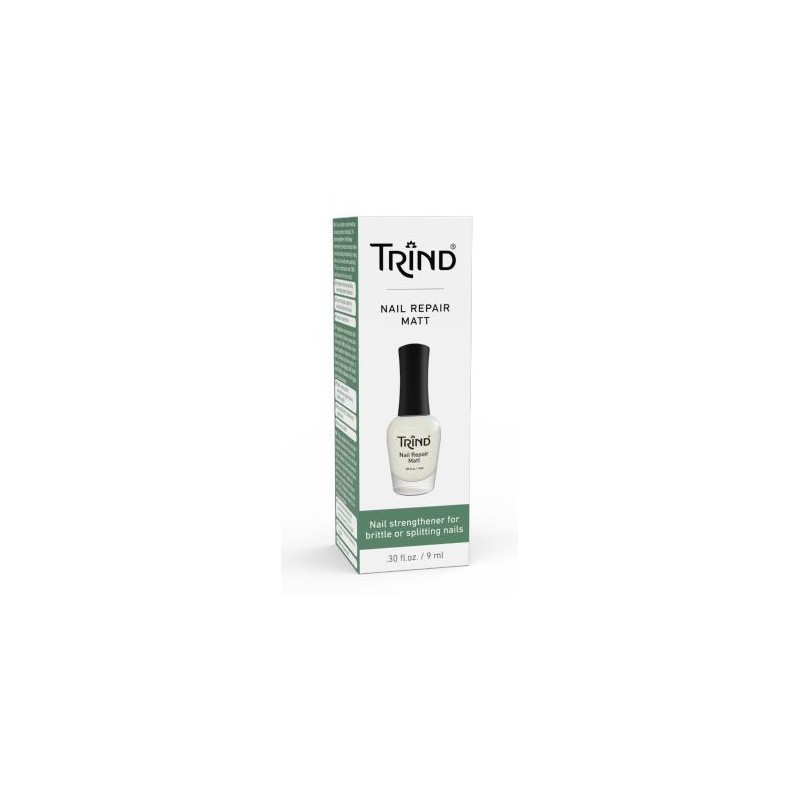 Matinis nagų stipriklis Trind Nail Repair Matt TR112-192, 9 ml