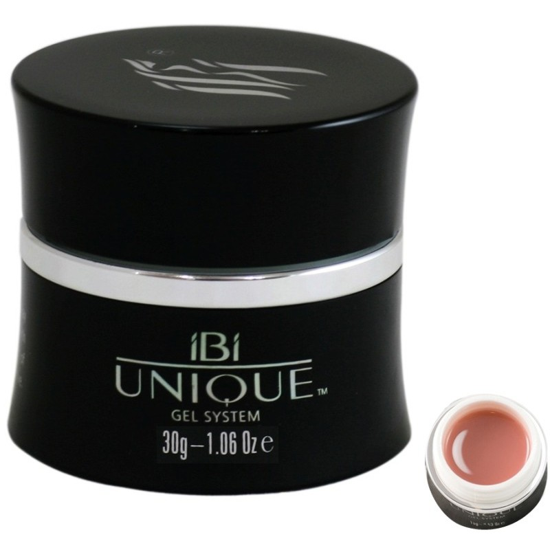 Lengvai nuimamas gelis IBI Unique Easy Off Opaque UN12-30, rožinis, 30 g