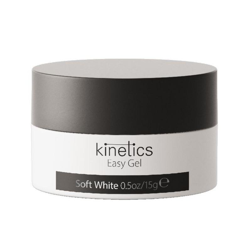 Baltas gelis Kinetics Easy Gel Soft White EGSW05, 15 ml