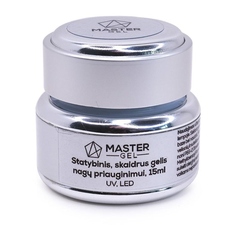 Gelis formavimui MasterGel MG020915, skaidrus, nekaista, 15 ml