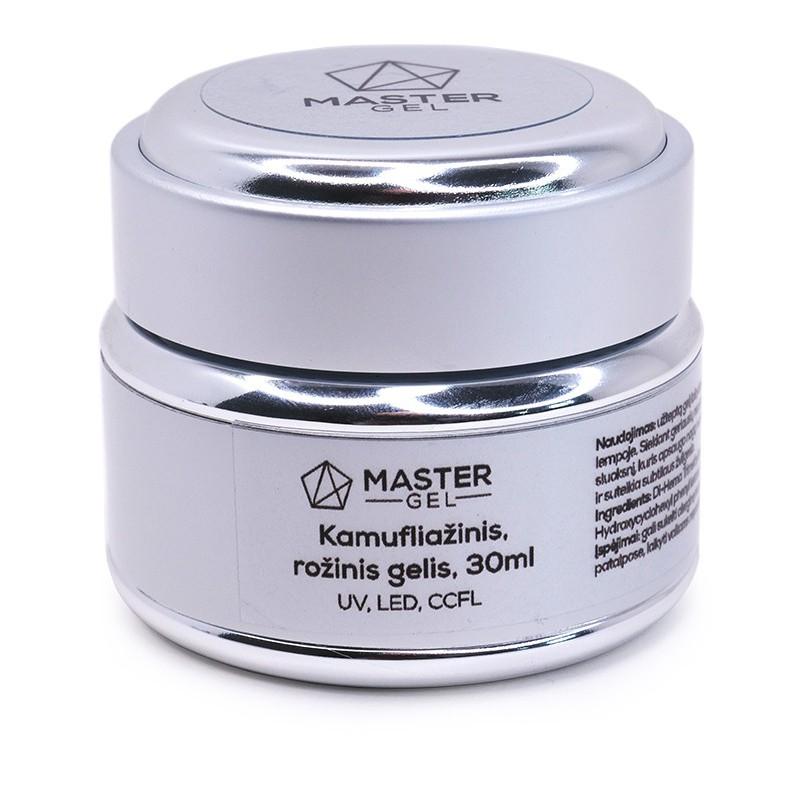 Gelis MasterGel MG021730, kamufliažinis, rožinis, 30 ml