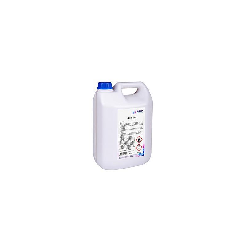 Paviršių dezinfekavimo priemonė Higėja ADK-611, _HIGADK-611/5L, 5 L
