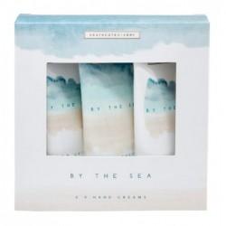 Rinkinys rankoms Heathcote & Ivory By The Sea Hand Cream Trio BSFG6722, rinkinį sudaro trys rankų kremai, 3 x 50 ml