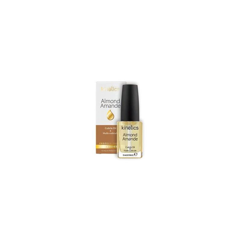 Aliejus nagų odelėms Kinetics Professional Cuticle Oil Almond KTR02B su migdolų aliejumi, 15 ml