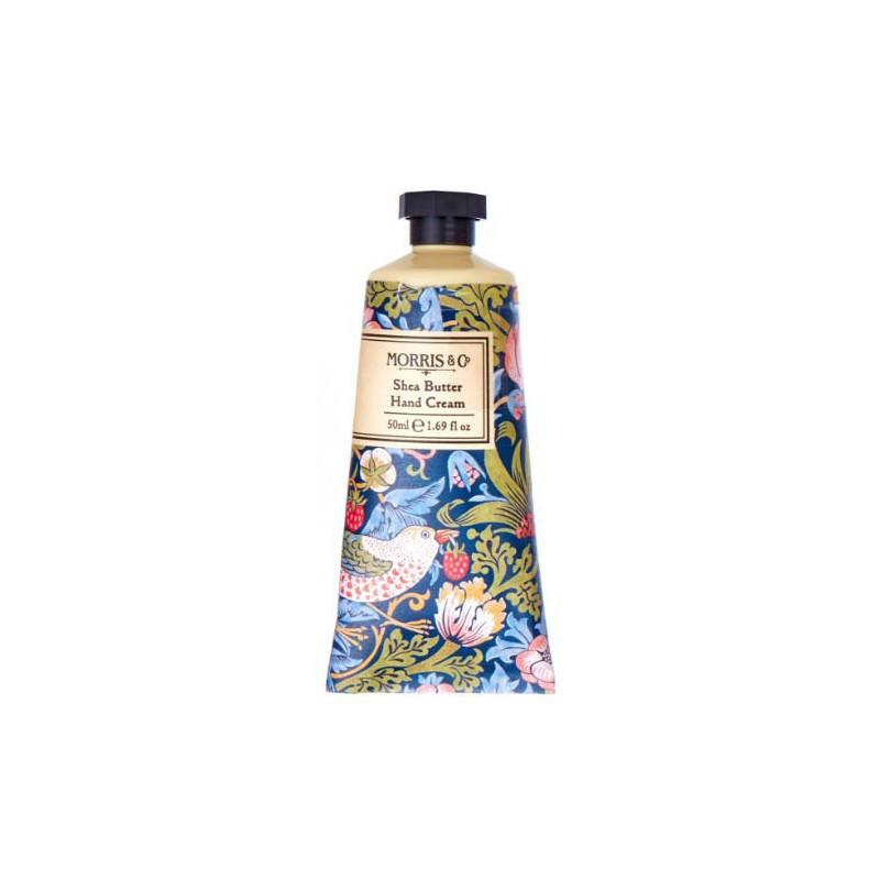 Rankų kremas Heathcote & Ivory Morris Strawberry Thief Blue Hand Cream MOFG6334, 50 ml