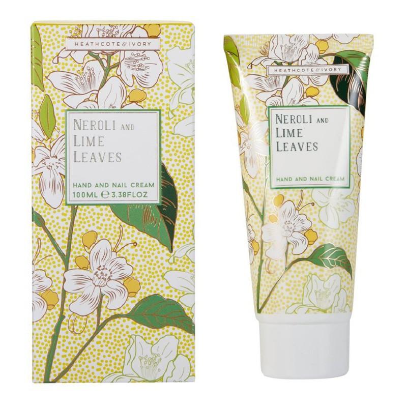 Rankų ir nagų kremas Heathcote & Ivory Neroli And Lime Leaves Hand And Nail Cream, NLFG7218, 100 ml