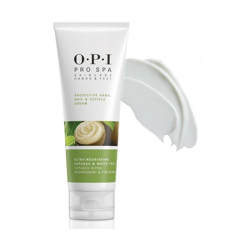 Apsauginis rankų, nagų ir odelių kremas OPI Protective Hand Nail & Cuticle Cream, OPIASP02, 118 ml