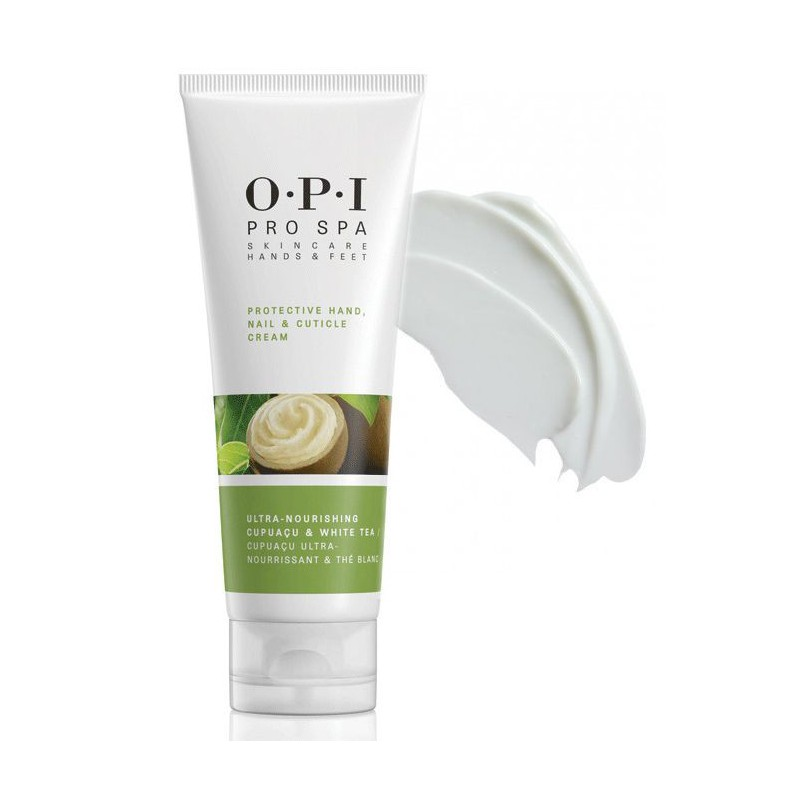 Apsauginis rankų, nagų ir odelių kremas OPI Protective Hand Nail & Cuticle Cream, OPIASP03 240 ml