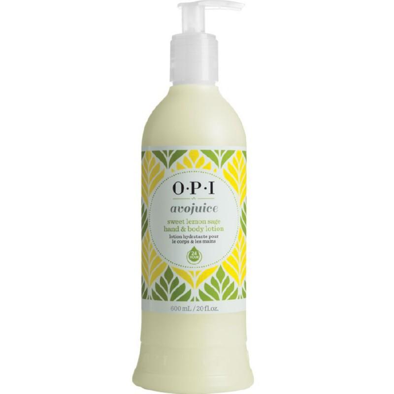 Lengvas drėkinantis losjonas rankoms ir kūnui OPI Avojuice Sweet Lemon, OPIAVP16, 600 ml