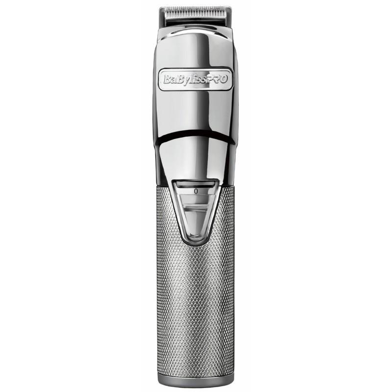 Įkraunama plaukų kirpimo-kantavimo mašinėlė - trimeris BaByliss PRO EDM Technology Metal Trimmer FX7880E