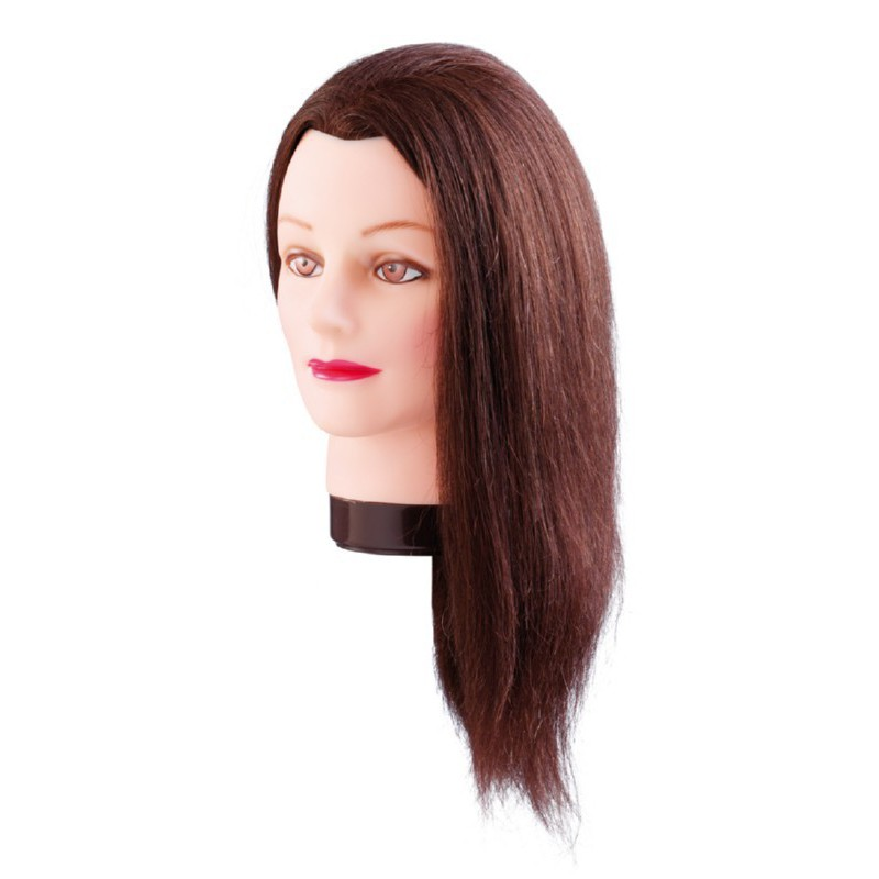 Manekeno galva Comair Estelle KMS7000829, rudi plaukai, 50 cm