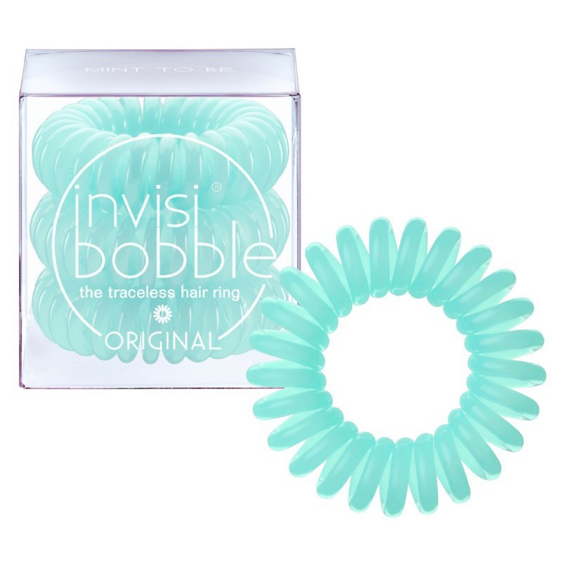 Gumytės plaukams Invisibobble Original Traceless Hair Ring Mint To Be IB-OR-PC10007, 3 vnt.