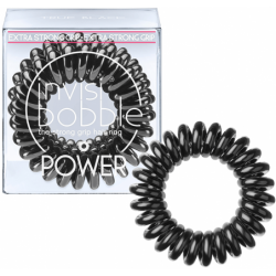 Gumytės plaukams Invisibobble POWER True Black IB-PW-PC10001, 3 vnt.