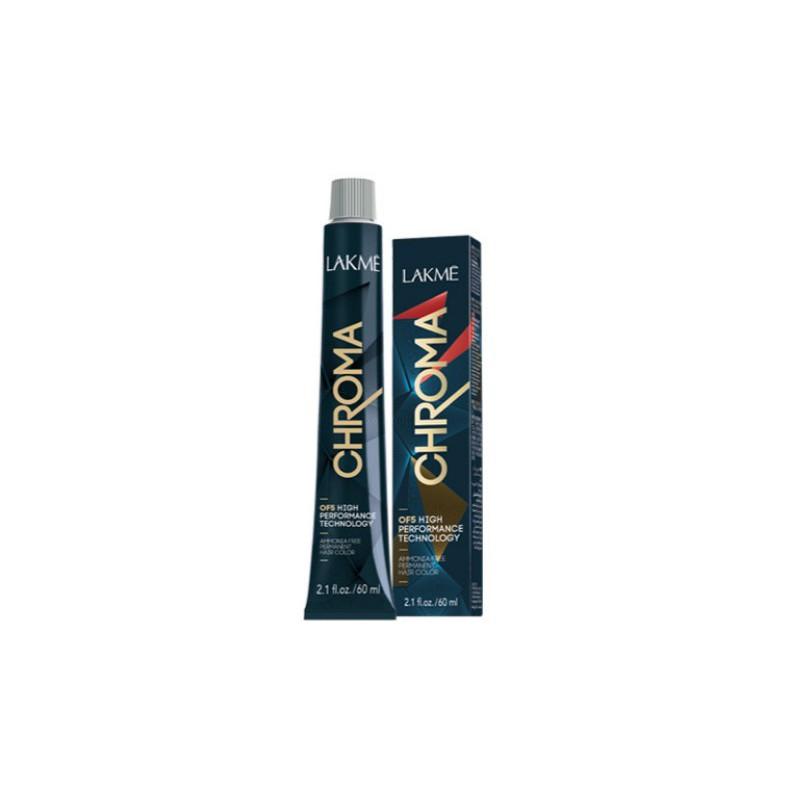 Beamoniakiai plaukų dažai Lakme Chroma, 60 ml, 7/64, pusiau permanentiniai