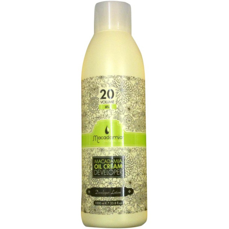 Oksidacinė emulsija Macadamia Natural Oil Developer Lotion Oil Cream MAM8207, 20 vol., 6%, 1000 ml