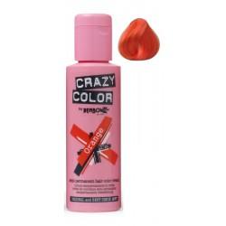 Plaukų dažai Crazy Color COL002250, pusiau ilgalaikiai, 100 ml, 60 oranžinė