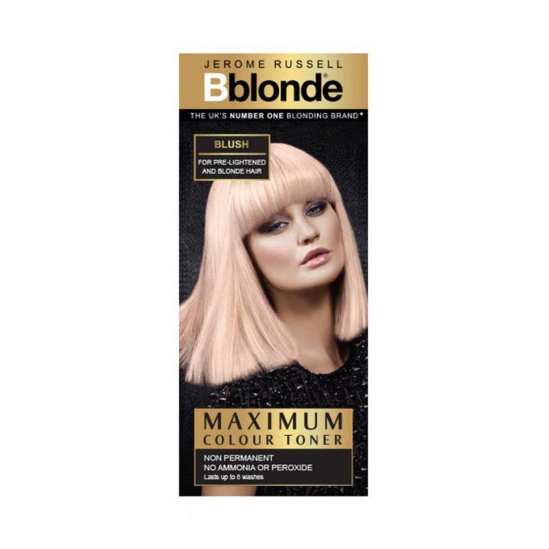 Plaukų tonavimo priemonė Jerome Russell Maximum Colour Toner Blush JR535007, plaukams suteikia atspalvį, 75 ml