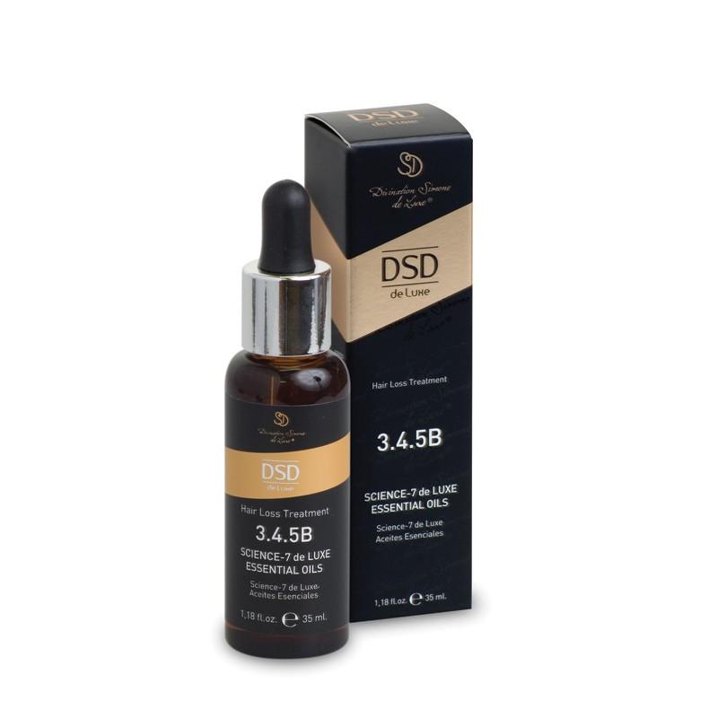 Eteriniai aliejai nuo plaukų slinkimo Dixidox de Luxe Science-7 de Luxe Essential Oils DSD 3.4.5B, 35 ml
