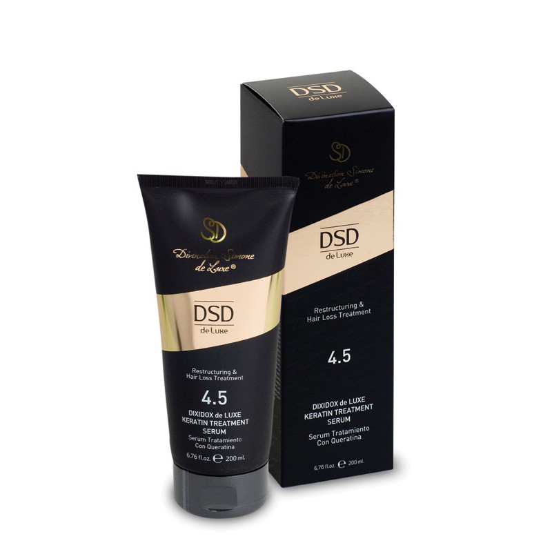 Plaukų serumas su keratinu Dixidox de Luxe Keratin Treatment Serum DSD 4.5, 200 ml