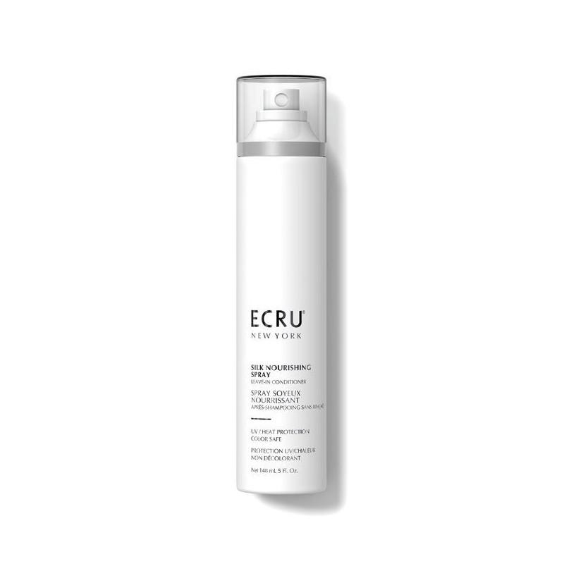 Plaukus maitinanti nenuplaunama priemonė Ecru New York Silk Nourishing Spray ENYSSNS5, 148 ml