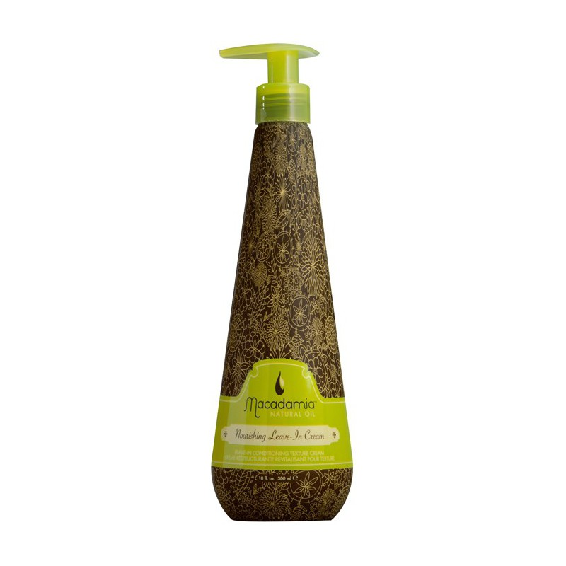 Nenuplaunamas, maitinantis Macadamia Natural Oil kremas plaukams MAM3025, 300 ml