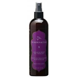 Nenuplaunama, plaukų iššukavimą lengvinanti priemonė Marrakesh  X Leave-In Treatment & Detangler High Tide Scent MKX253, 355 ml