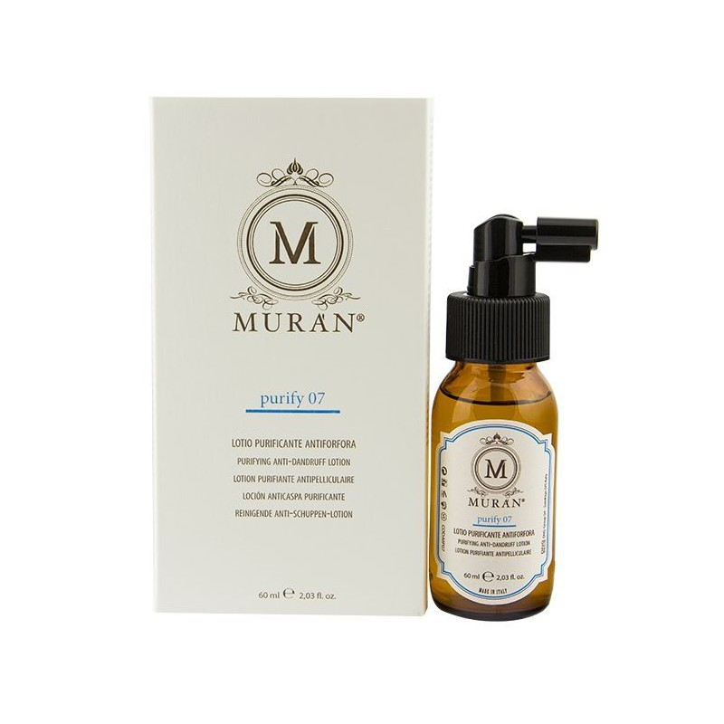 Valomasis plaukų losjonas nuo pleiskanų Muran Purifying Lotion For Dandruff Control MP07, 60 ml