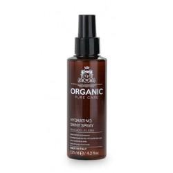Plaukus drėkinantis, žvilgesio suteikiantis purškiklis plaukams Organic Pure Care Hydrating Shiny Spray ORGF630, 125 ml