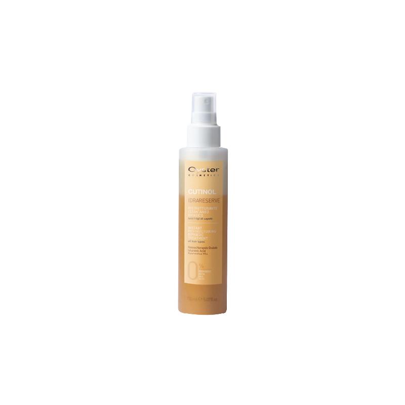 Dvifazė, plaukus atkurianti ir atstatanti priemonė Oyster Idrareserve OYBM05150010, efektyviai drėkina plaukus, purškiama, tinka visų tipų plaukams, 150 ml