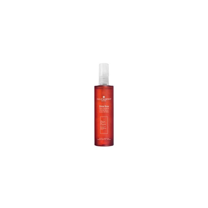 Spindesio plaukams suteikiantis serumas Philip Martin's Shine Rose PM908, apsaugo ir maitina plaukus, 50 ml