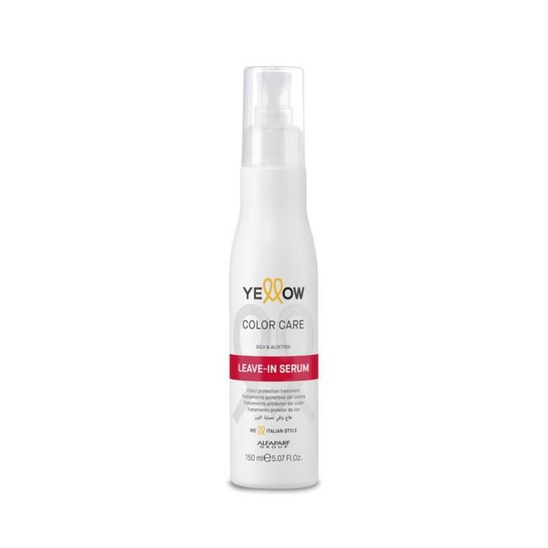Nenuplaunamas serumas dažytiems plaukams Yellow Color Care Leave-In Serum YE017110, 150 ml