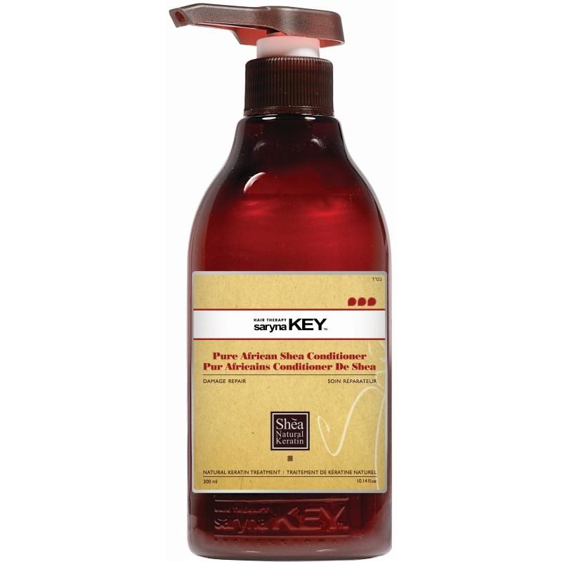 Plaukų kondicionierius Saryna KEY Damage Repair Pure African Shea Conditioner, su taukmedžio sviestu, atstatomasis, skirtas pažeistiems plaukams, 300 ml