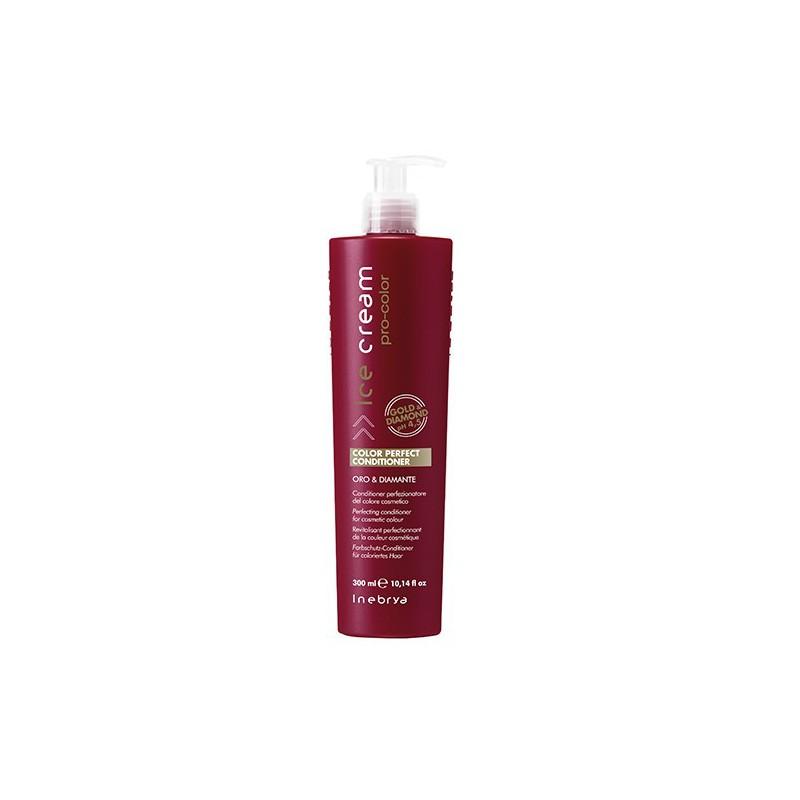 Kondicionierius dažytiems plaukams Ice Cream Color Perfect Conditioner ICE6096, profesionaliam naudojimui, 300 ml