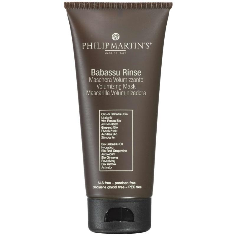 Plaukų apimtį didinantis kondicionierius Philip Martin's Babassu Rinse PM852, ploniems plaukams, 250 ml