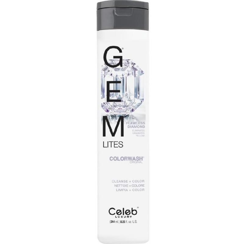 Dažantis šampūnas Celeb Luxury Gem Lites Flawless Diamond CEL80400, 244 ml