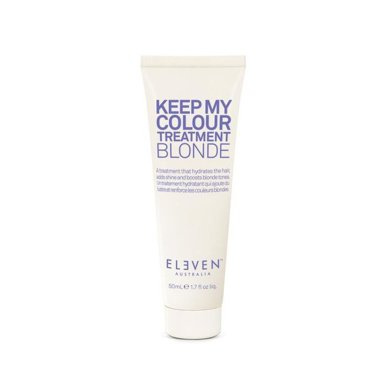Kaukė šviesiems plaukams Eleven Australia Keep My Colour Treatment Blond ELE066, 50 ml