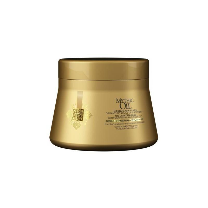 Maitinamoji plaukų kaukė L'Oréal Professionnel Mythic Oil MO Masque _LORE1857901, skirta normaliems ir ploniems plaukams, 200 ml.