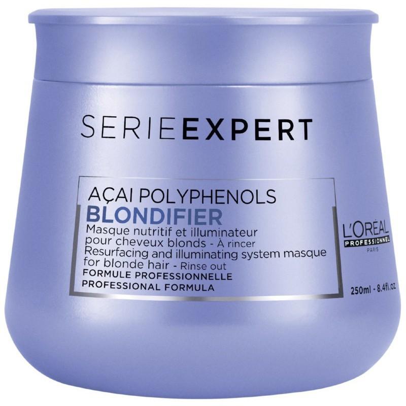 Kaukė šviesiems plaukams L'Oréal Professionnel Serie Expert Blondifier Masque _LORE2956600, 250 ml.