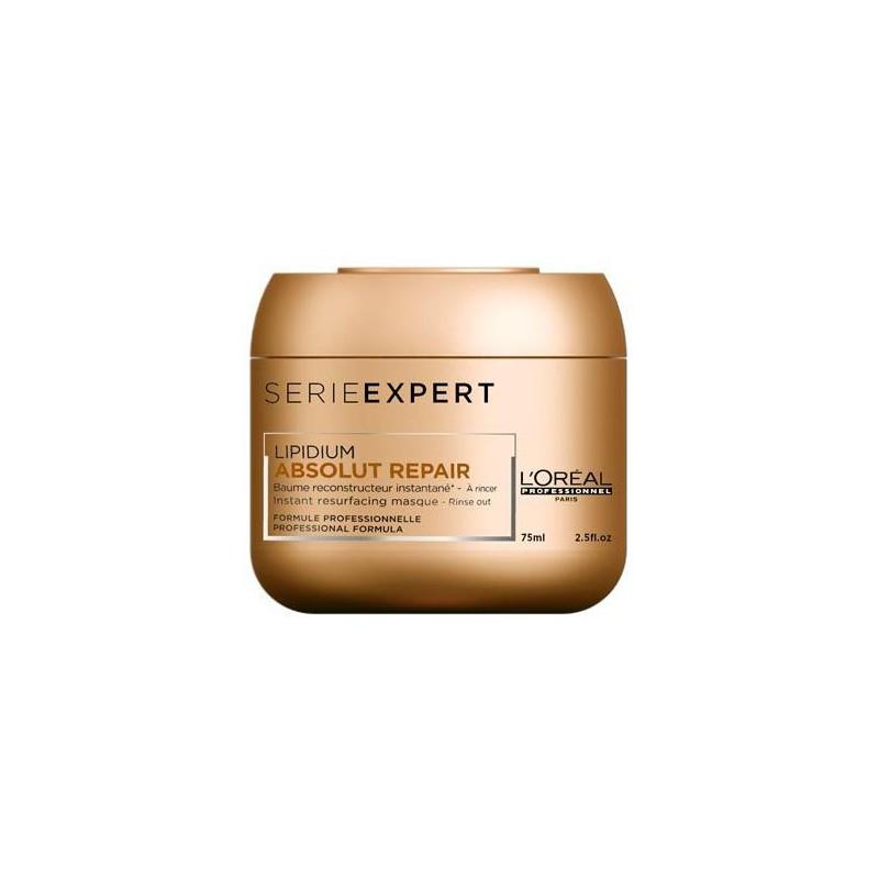 Atkuriamoji kaukė plaukams L'Oréal Professionnel Absolut Repair Masque _LORUPL91002, skirta labai pažeistiems plaukams, 75 ml.