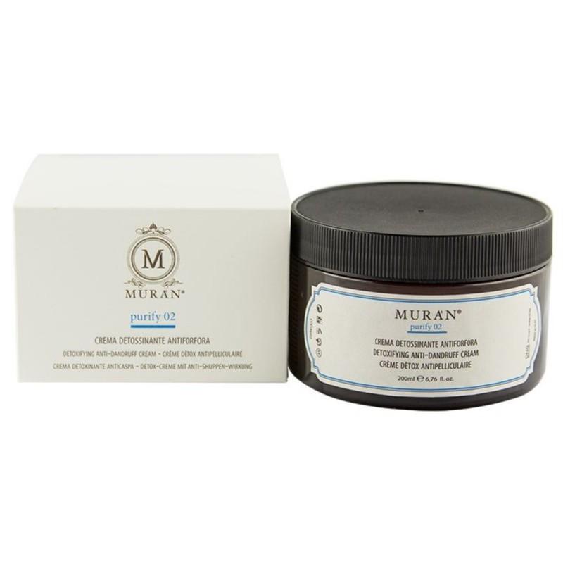 Detoksikuojantis kremas nuo pleiskanų Muran Detoxifying Cream For Dandruff Control MP02, 200 ml